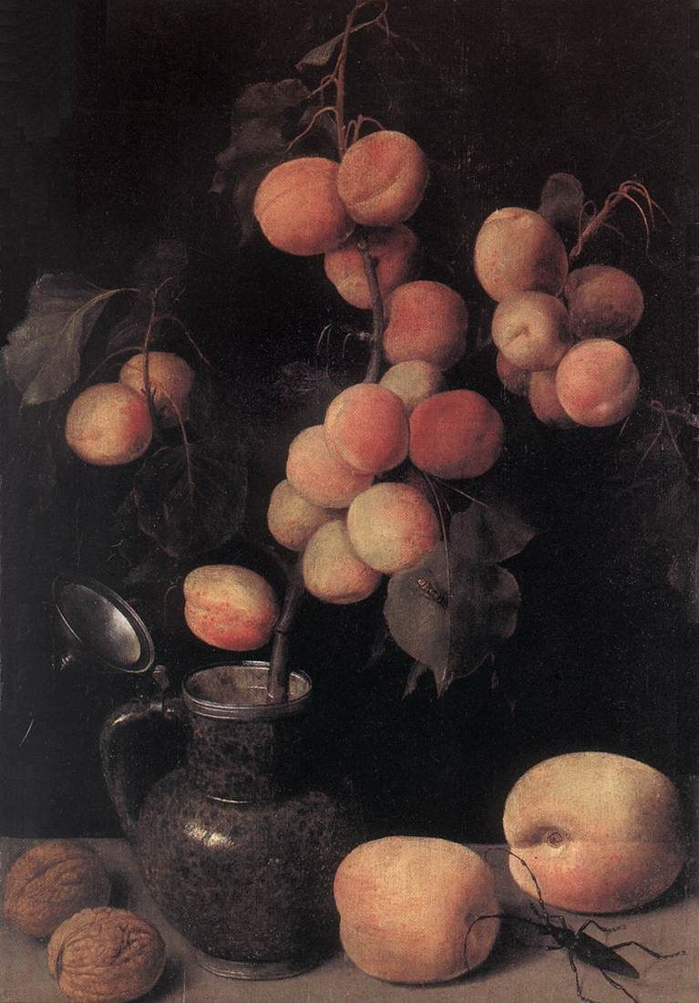 Still Life with Peaches - c1630 - Georg Flegel