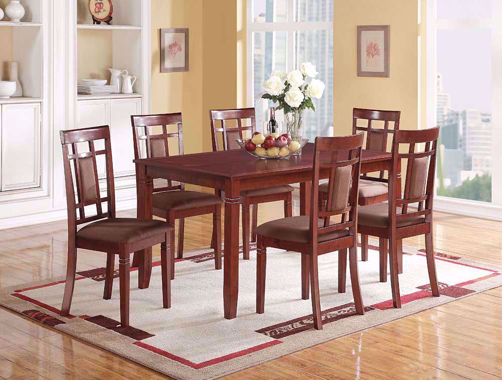 Swell Sotana Dining Table With Six Chairs Products In 2019 Ibusinesslaw Wood Chair Design Ideas Ibusinesslaworg