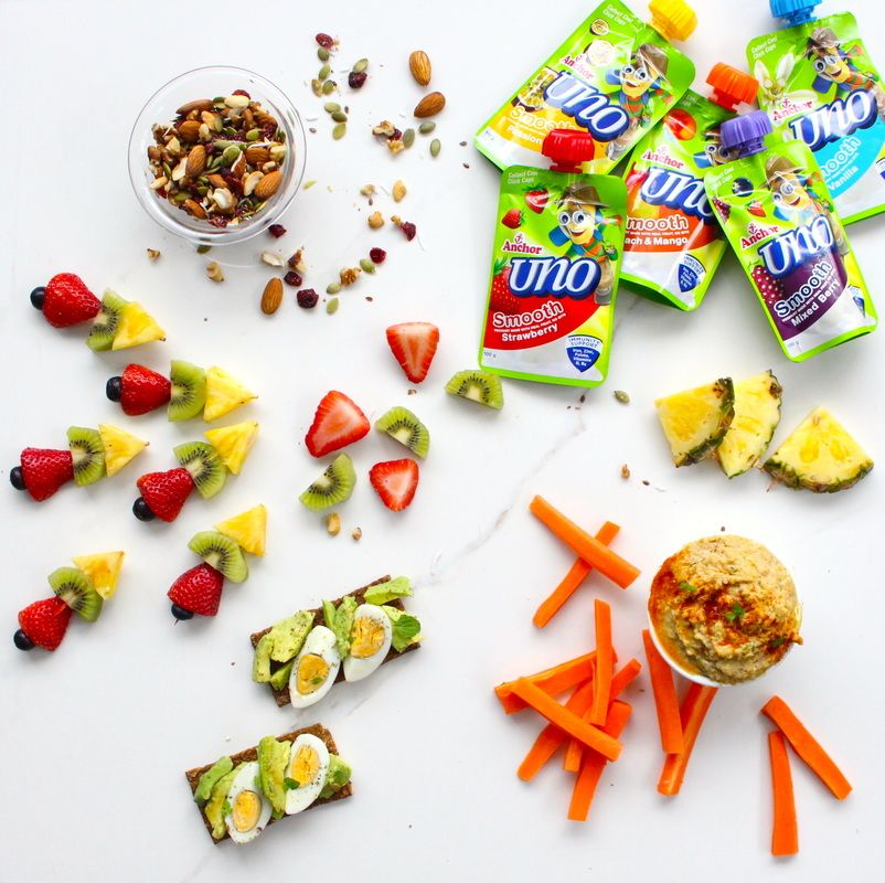5 Healthier Snack Ideas for Kids