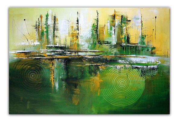 Jungle Abstrakte Kunst Kunstler Bild Kaufen Abstrakte Malerei Malerei Abstrakt