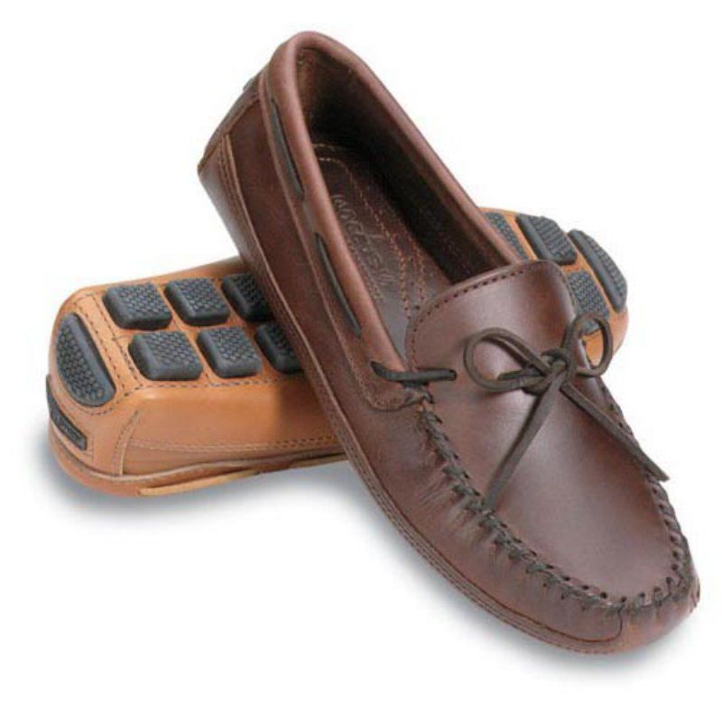 Mens Casual Shoes Minnetonka Mens Driving Moccasins Casual Shoes Real