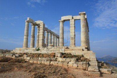 Ruinas del templo de Poseidón
