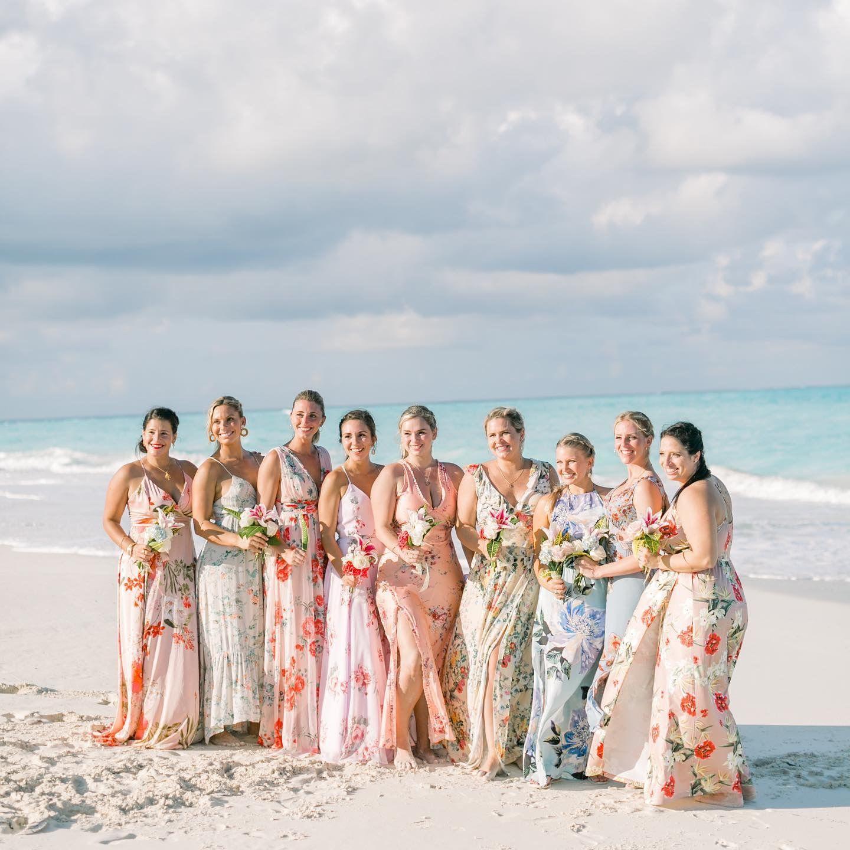 Mix And Match Bridesmaids Dresses Beach Wedding Bridesmaid Dresses Beach Wedding Bridesmaids Beach Bridesmaids [ 1440 x 1440 Pixel ]