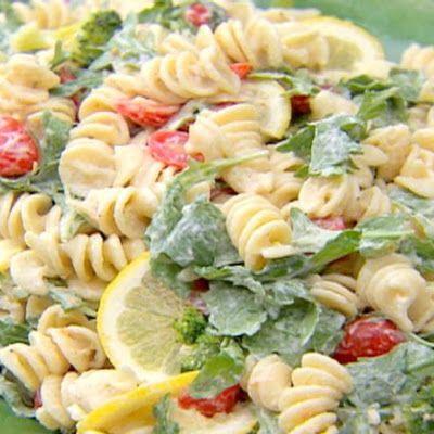 Lemon Pasta with Arugula - Barefoot Contessa