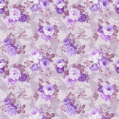 Purple Floral Wallpaper Pattern Vintage Tumblr Desktop