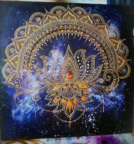Школа Мехенди Акрилом | Онлайн обучение росписи | Mandalas ...