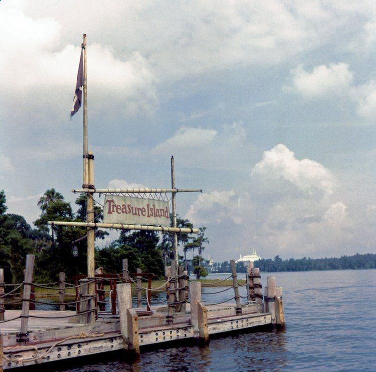 Boat Dock At Treasure Island 1974