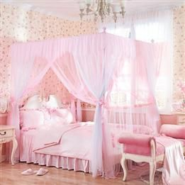 Wholesale Household Rose Flower 4 Poster Bed Canopy Amp Bed
