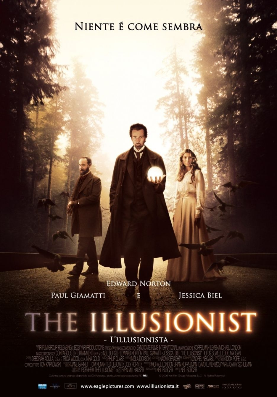 O Ilusionista (The Illusionist), 2006. The illusionist