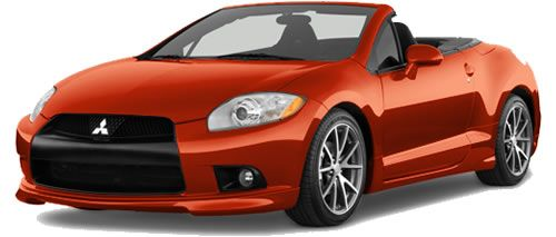 2012 Mitsubishi Eclipse Spyder! Loving This Color!