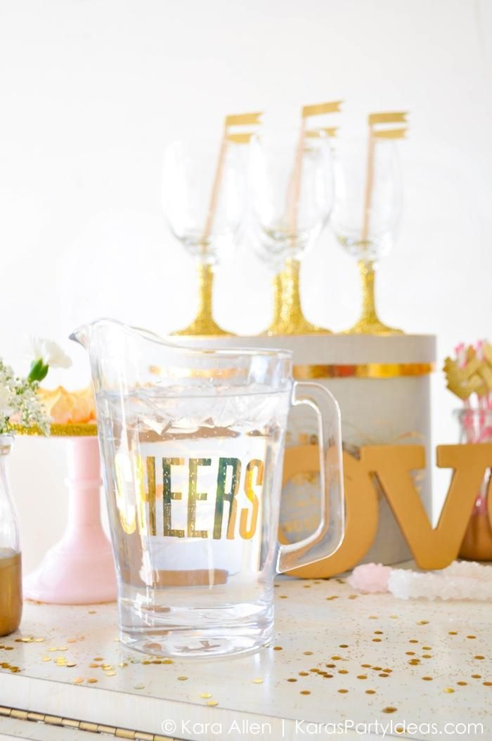 Amazing gold deer party Party ideas Pinterest Party planning