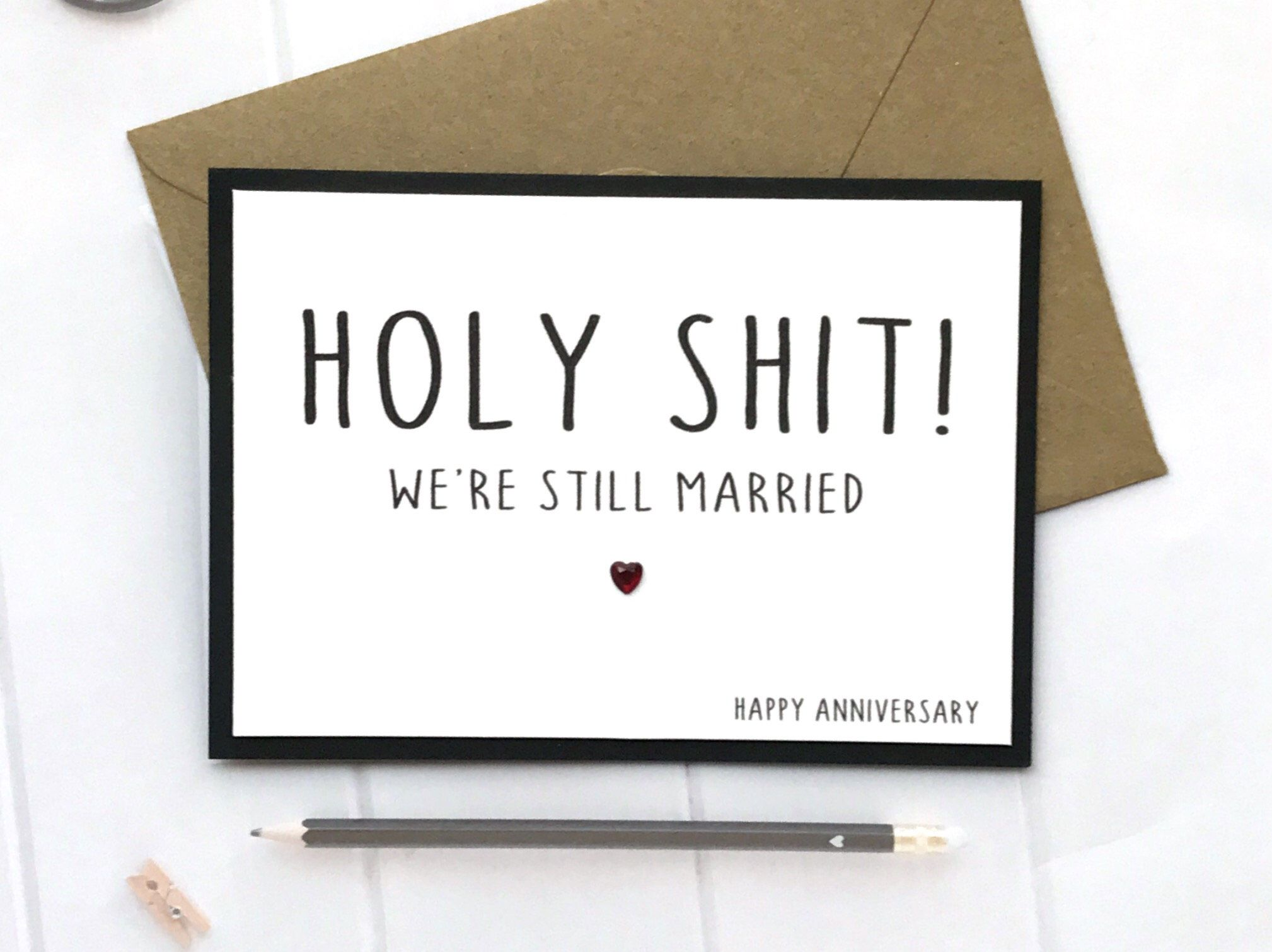 Excited to share this item from my etsy shop holy shit anniversary