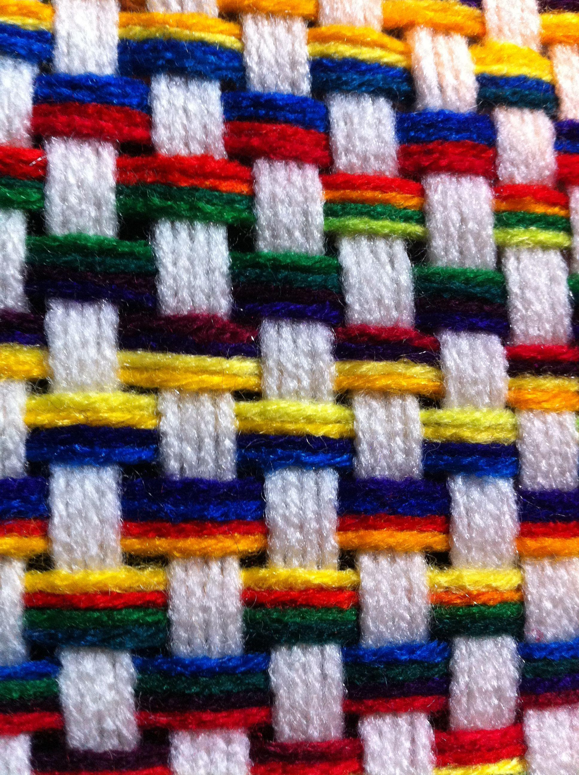 Martha Stewart\'s knit and weave loom! | Telar de peine | Pinterest ...