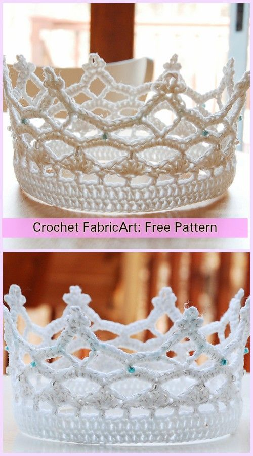 Crochet Royal Crown Free Pattern Pinterest Crown Royals And Crochet