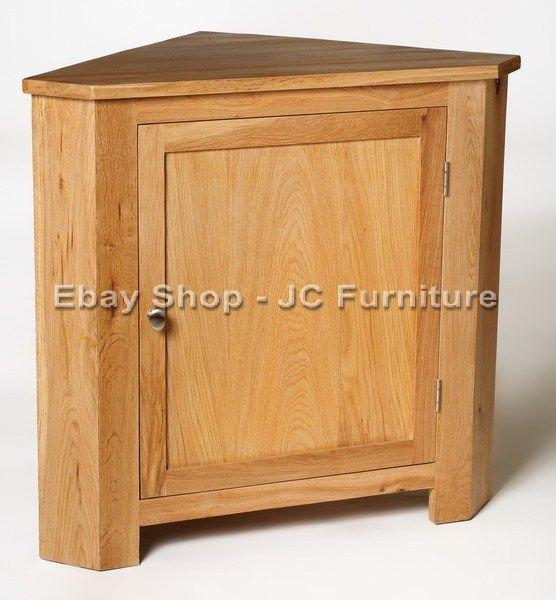 New solid oak small low corner storage display unit cupboard cabinet new solid oak small low corner storage display unit cupboard cabinet table watchthetrailerfo