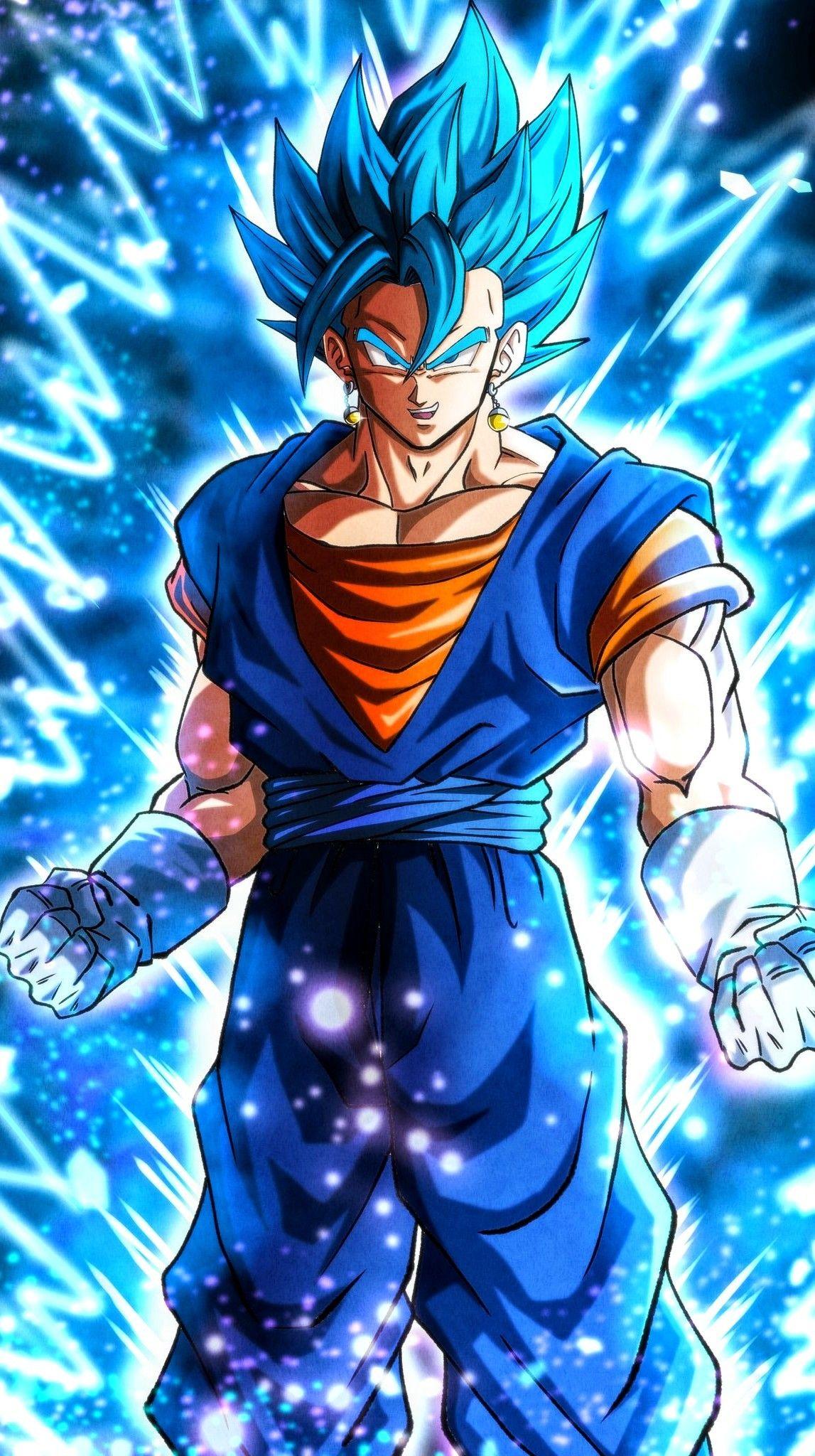 Vegito Blue Anime Dragon Ball Super Dragon Ball Super Artwork Dragon Ball Super Goku