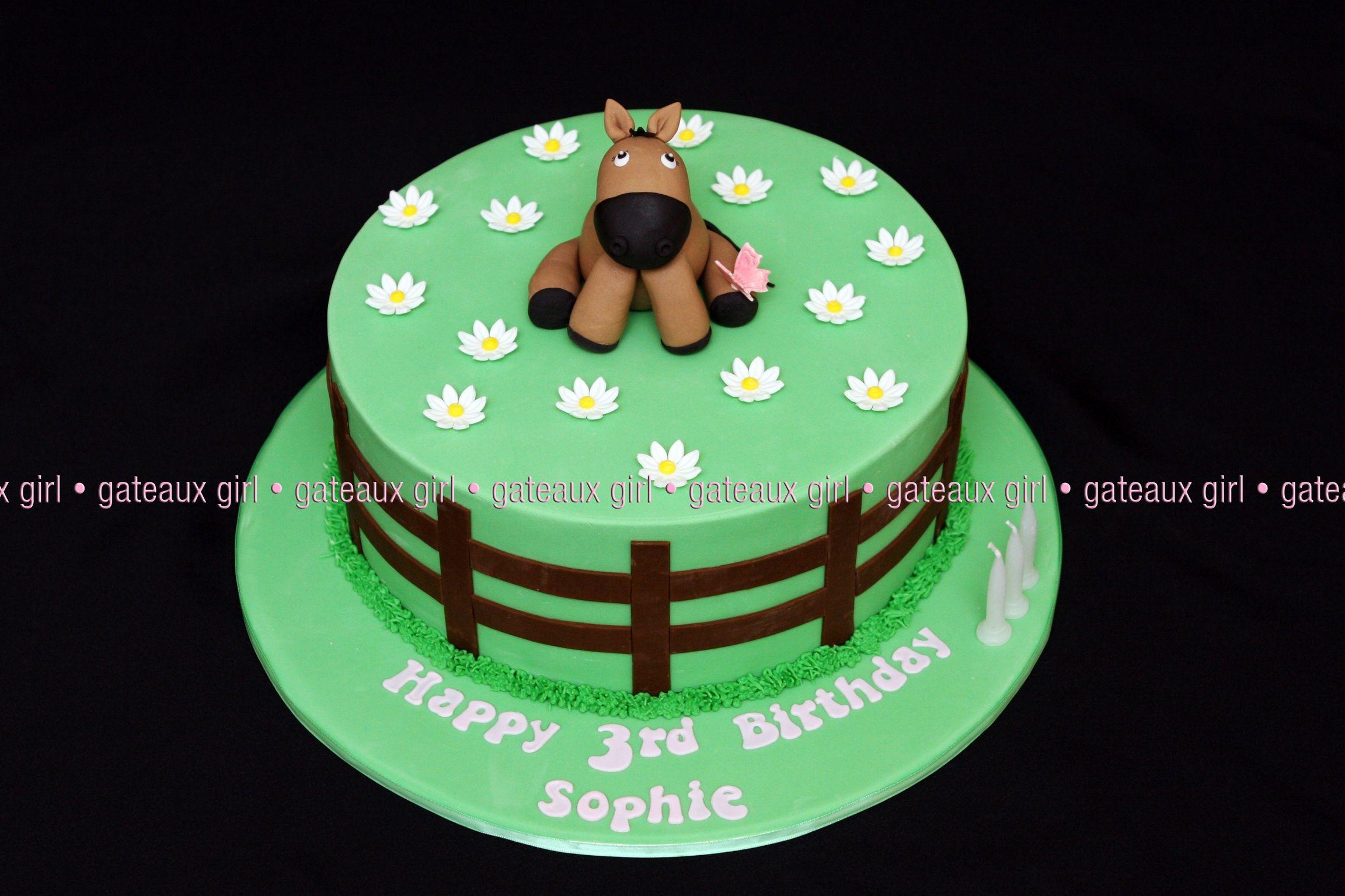Kids Horse Cake Cakes Horses Pinterest Horse Cake Cake And