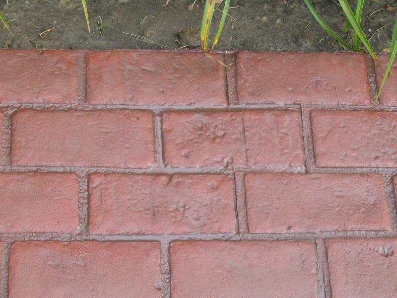 Cadillac Concrete Runningboard Brick Decorative Concrete Cement Stamp Mat