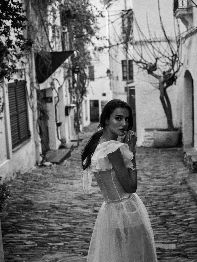 Spanische Angeilerin Bei Fotoshooting