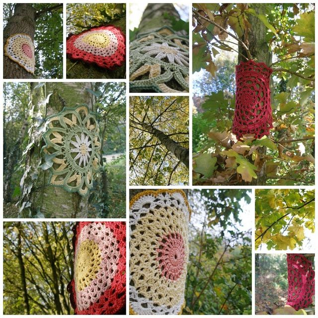 Leafy autumn crochet | Flickr - Photo Sharing!
