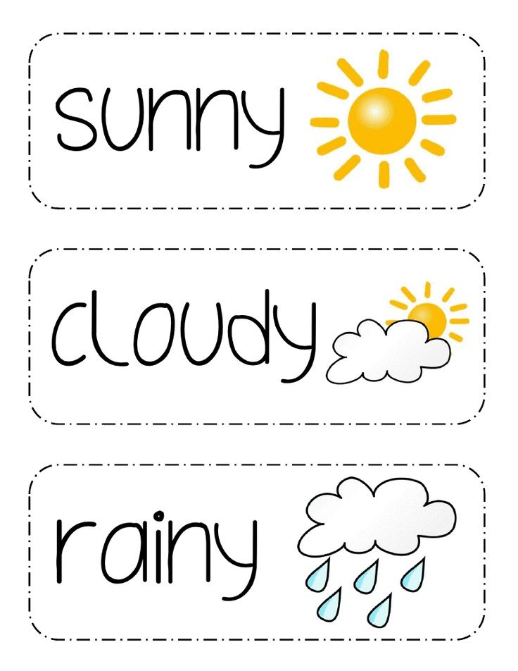 School: Calendar & Weather Preschool Weather, Teaching Weather, Teaching  Life