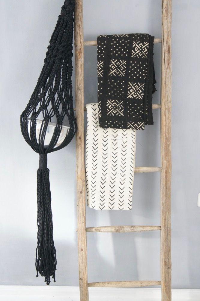 Black & White interior decor boheme-living.com