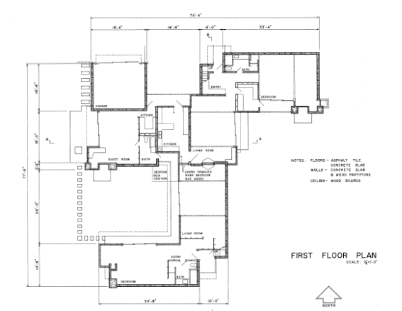 schindler house plan | arch | plans | pinterest | architecture and