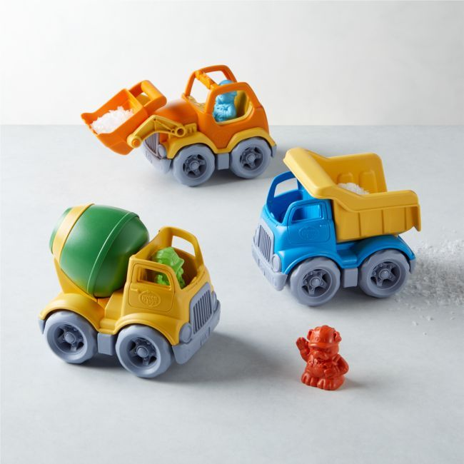 Green Toys Constuction Vehicle Set Of 3 Green Toys Toys