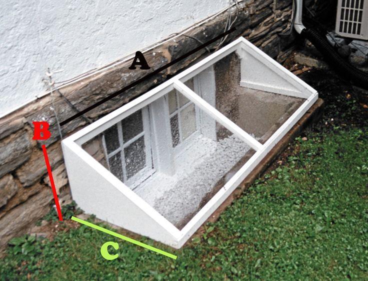fen tre de sous sol bien couvre photo 4 decobelle pinterest sous sols couvre et photos. Black Bedroom Furniture Sets. Home Design Ideas