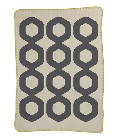 Take A Look At This 30 X 40 Gray Mod Ring Blanket On