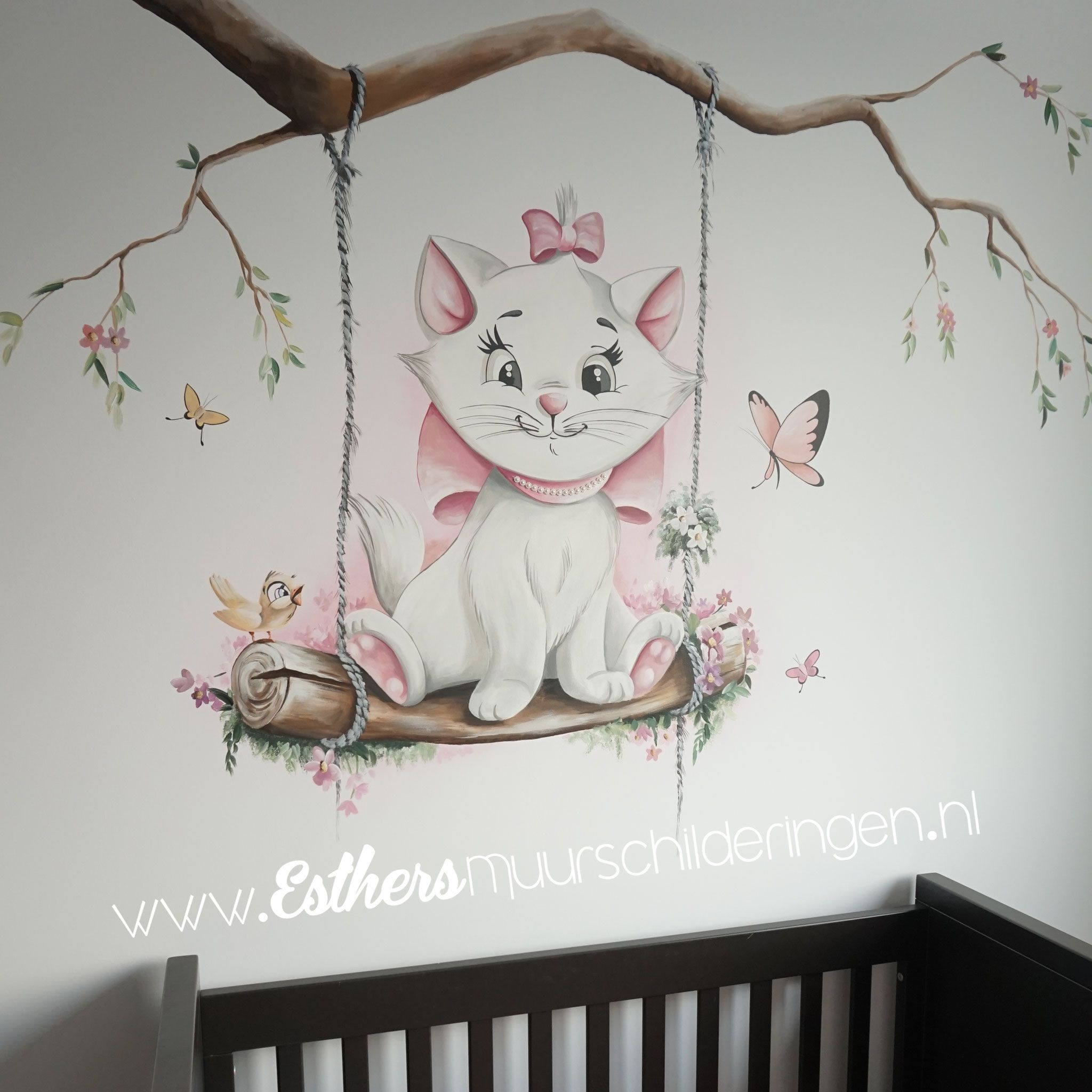 Muurschilderingen Babykamers Esthersmuurschilderingen Babykamer Decoratie Muurschildering Babykamer