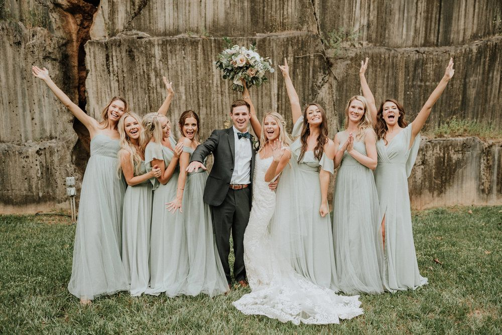 Our Wedding Day Details & Vendors (+ lots of photos!) -   14 wedding Party green ideas