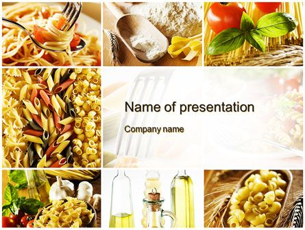 Http Www Pptstar Com Powerpoint Template Cooking Pasta Cooking Pasta Presentation Template How To Cook Pasta Food And Drink Food