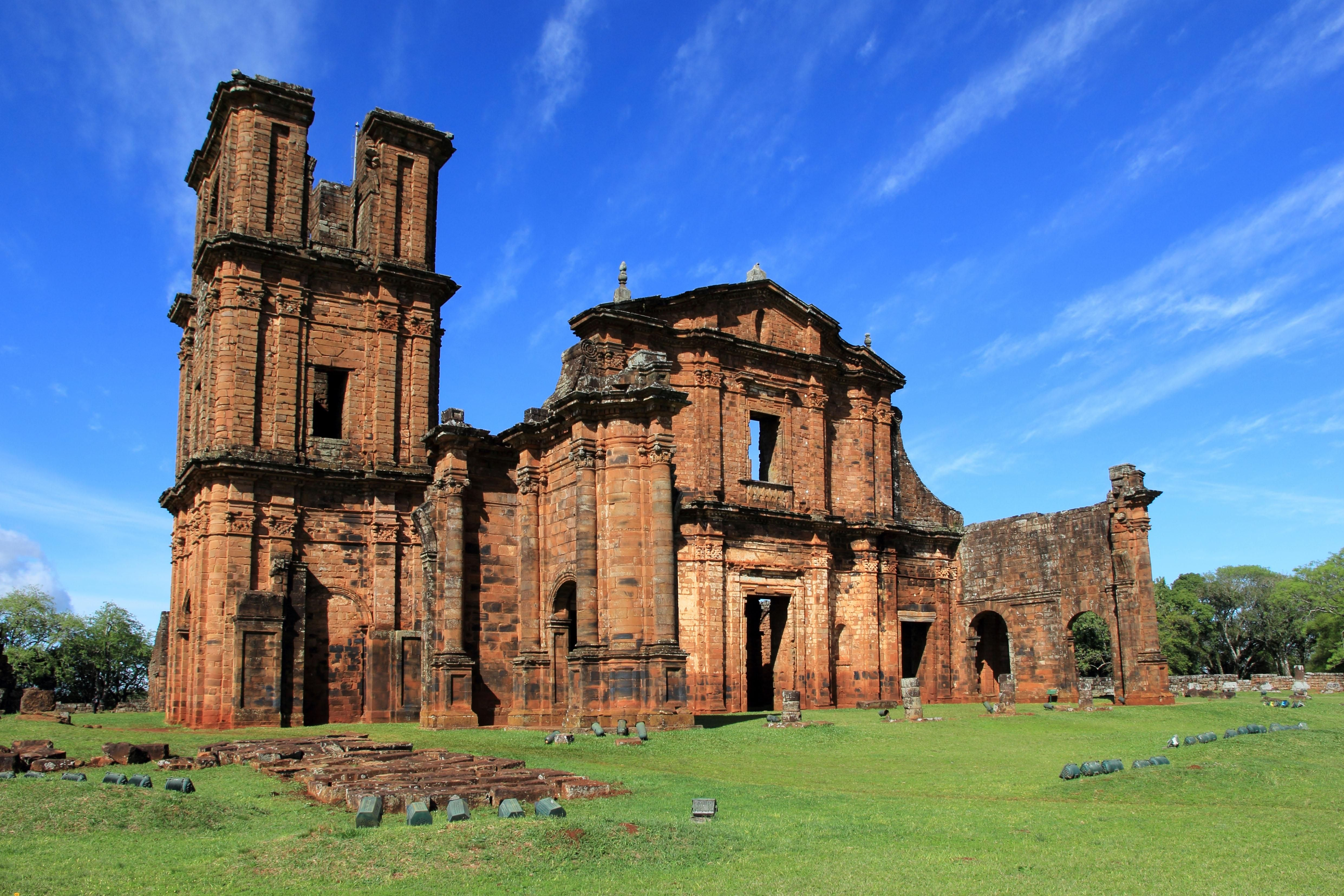 Ruins Of Sao Miguel Das Missoes Brazil 4964x3309 Abandoned