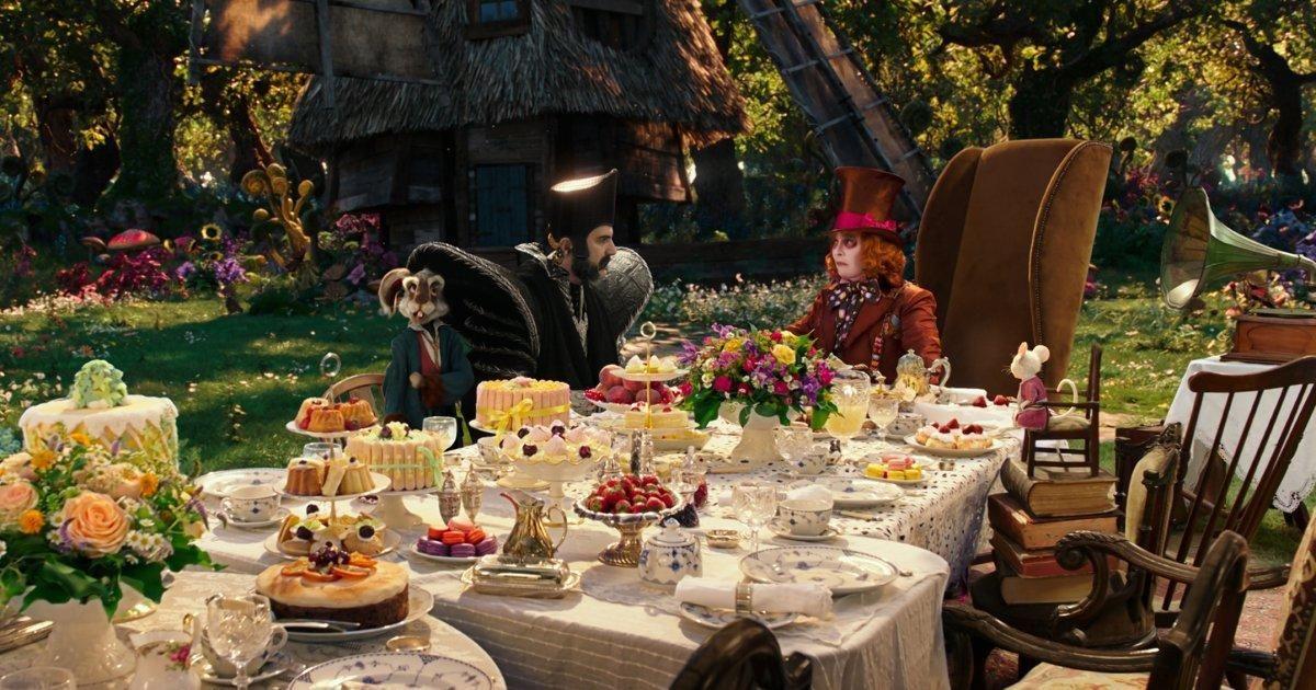Alice In Wonderland 2 Tea Party Alice In Wonderland Tea Party