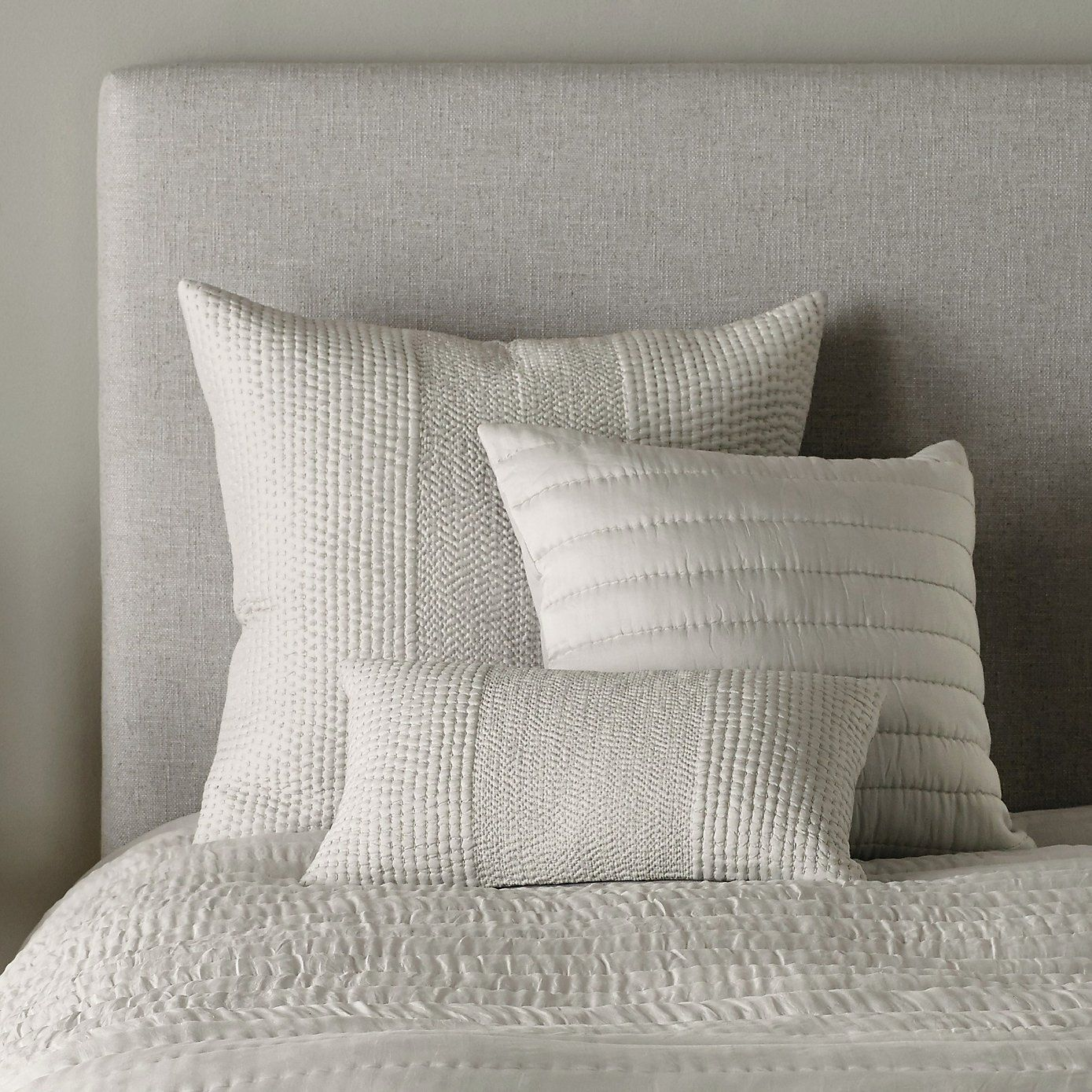 Albany collection silver the white company cushions