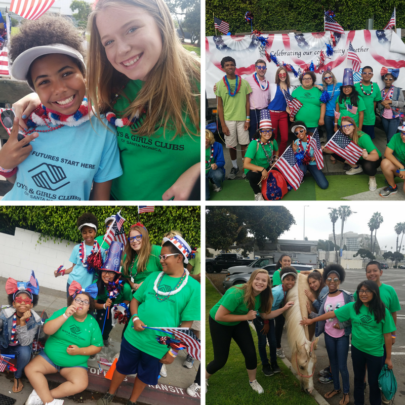 Our summer members stole the show at the Santa Monica 4th of July Parade. We thank our partners at Kaiser Permanente West LA for sponsoring this event and providing a day of FUN for our youth!