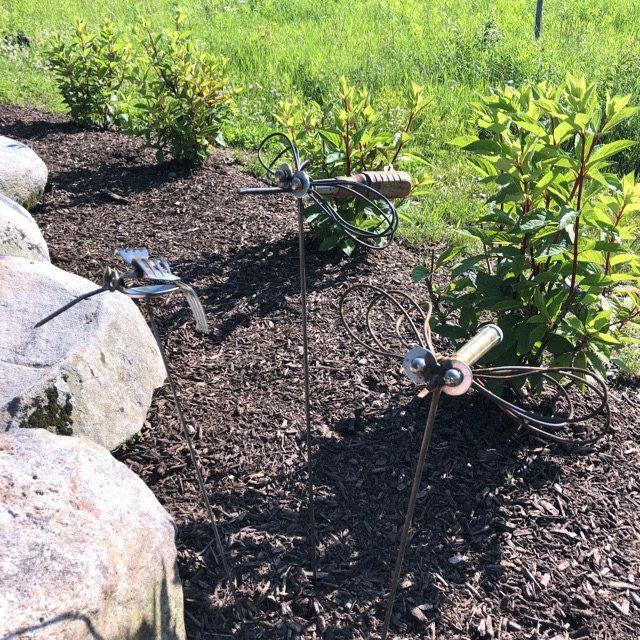 Golf Driver Sculpture, Garden Decor, Gift for mom, Outdoor ...