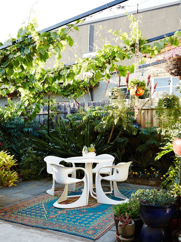 Sam Clayton and Mal Wood | Design files, Grape vines and Gardens