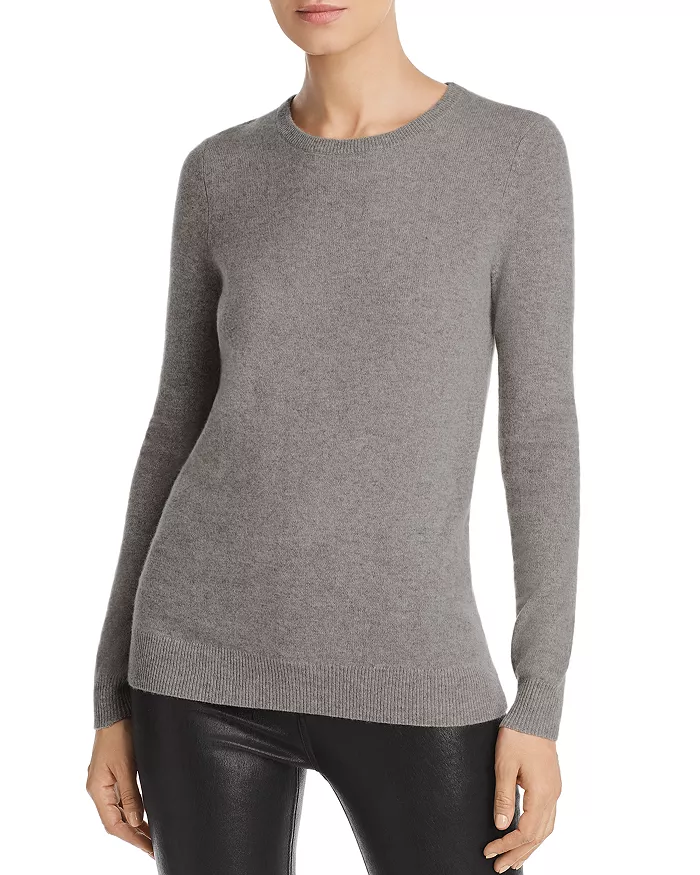 C by Bloomingdale's Crewneck Cashmere Sweater 100