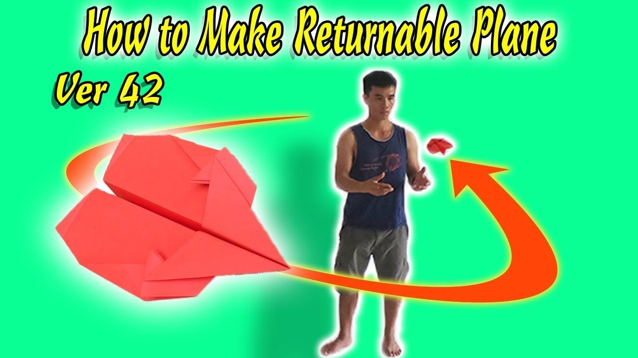 Origami Tutorial: How to Make a Paper Boomerang | KittyBabyLove.com | 720x1280