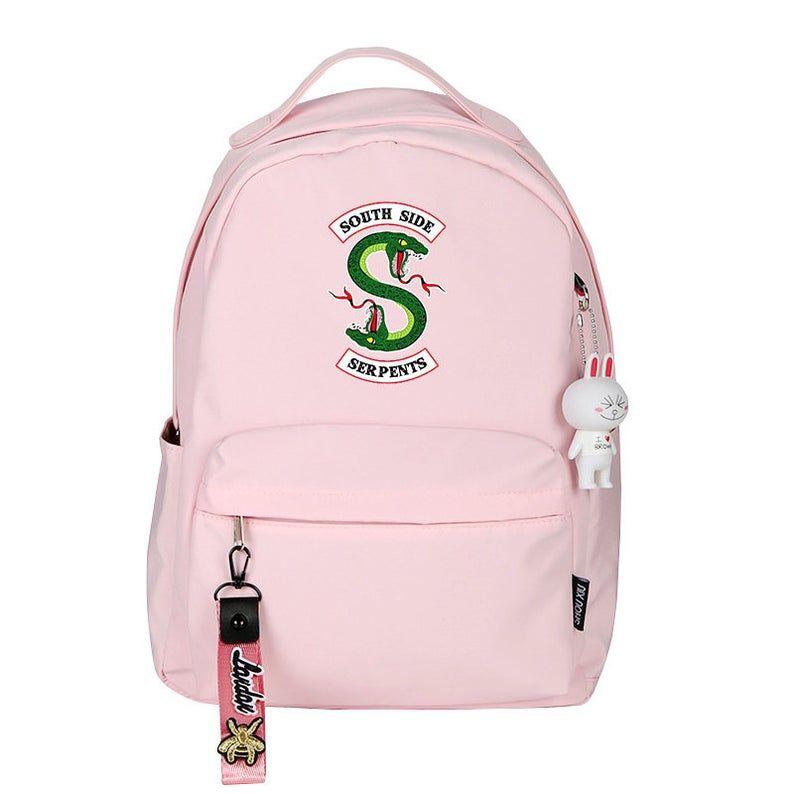 Colorful Pumpkin Print Laptop Backpack High School Bookbag Casual Travel Daypack