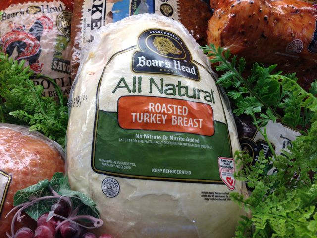 Boar's Head All Natural Roasted Turkey Breast—delicious and it's a Weight  Watchers Power Food.