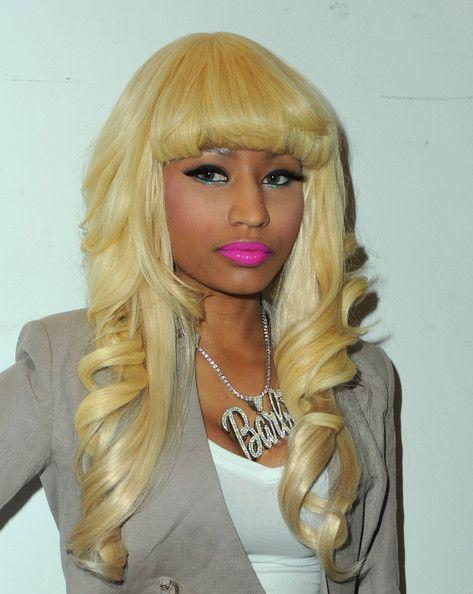 Platinum Barbie Nicki Minaj Hairstyles Nicki Minaj Wig Remy Hair