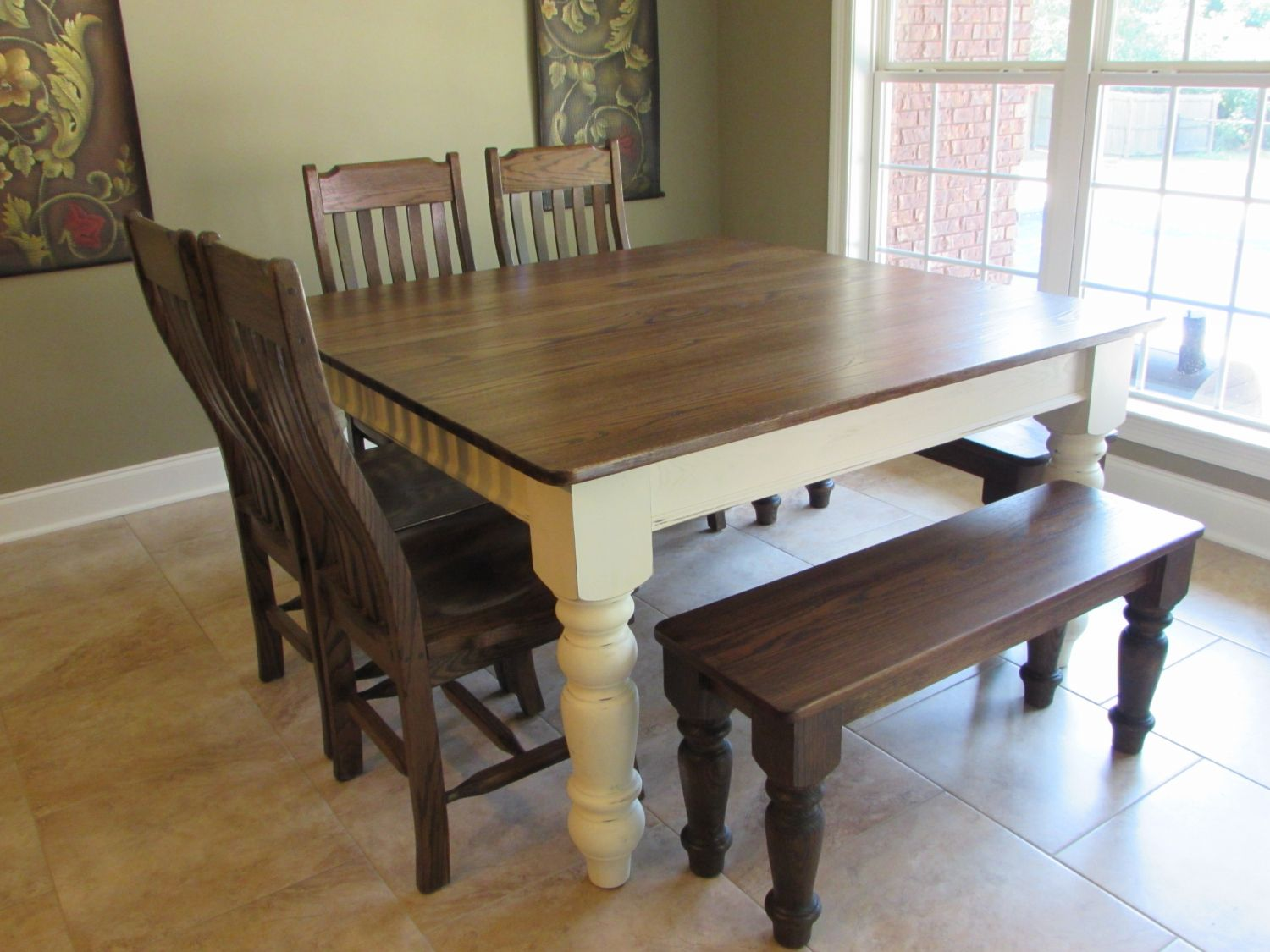 Square Kitchen Table for 8   Backsplash Ideas for Small ...
