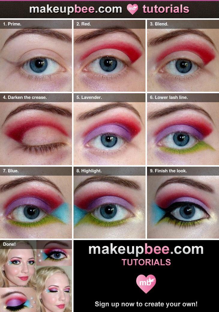 Step-By-Step Tutorial for Disney Princess Series: Ariel | Make-Up ...