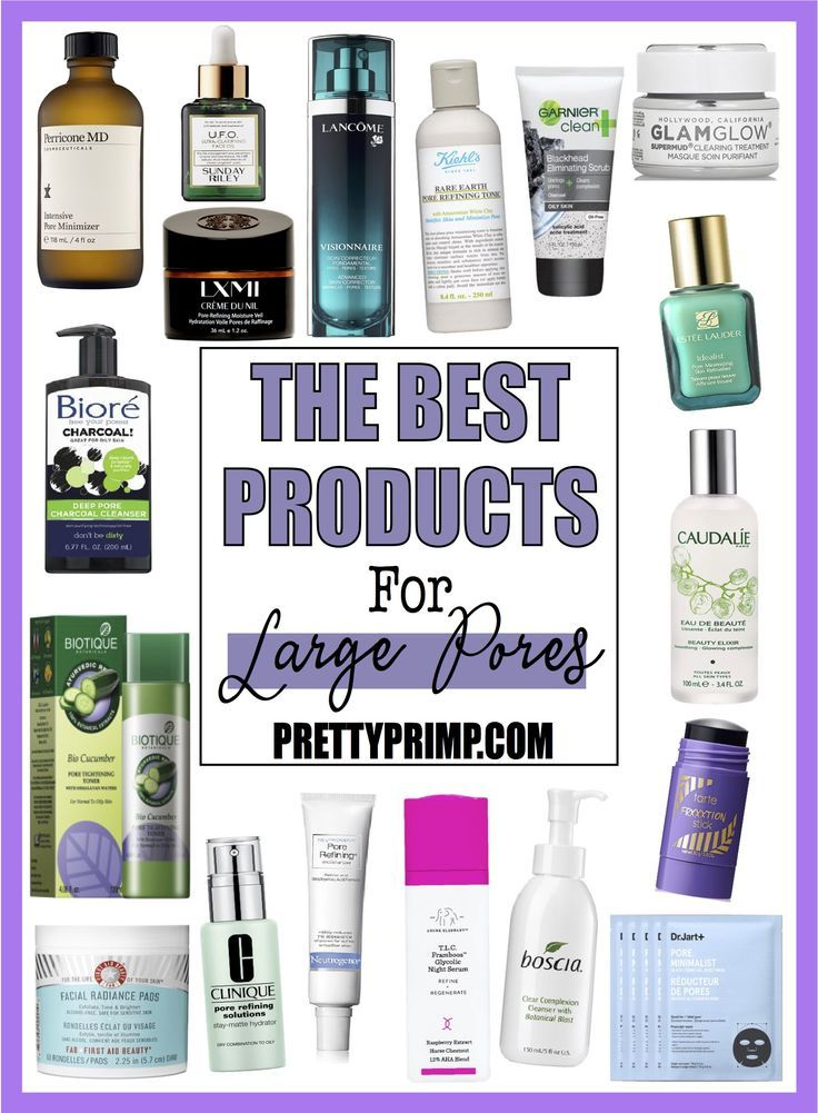 18 Best Products For Large Pores Blackheads That Clear Your Skin Large Pores Skin Care Skin Treatments