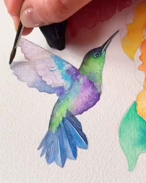 Animal Painting Watercolor Animal Painting Waterco