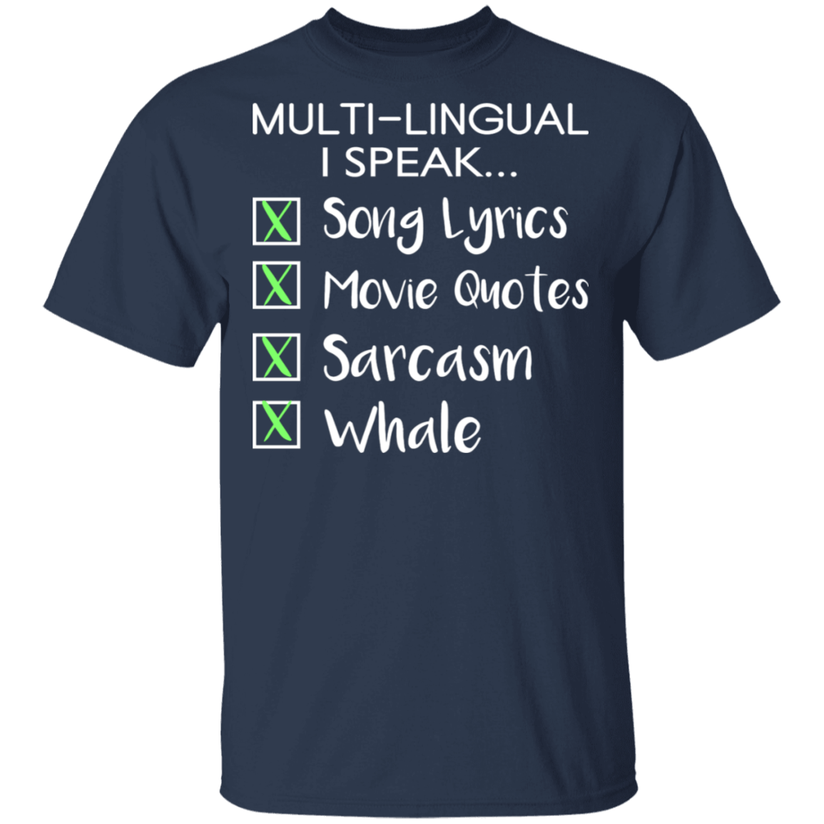 Show everyone how you are multi-lingual!