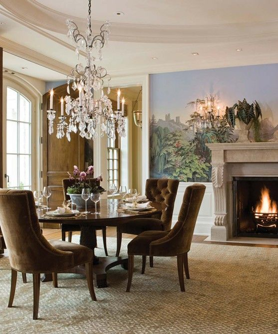 Introducing Boston Interiors Custom Dining: Interior Design By SLC Interiors; Traditional Boston